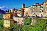 charming hillside villages of Italy, Umbria. Narni