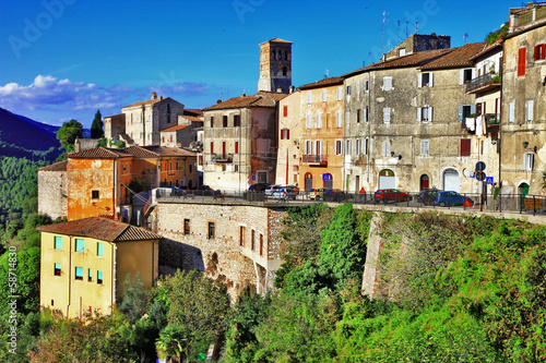 charming hillside villages of Italy, Umbria. Narni