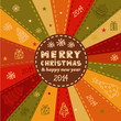 christmas vector greeting card