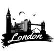 Obrazy na płótnie, fototapety, zdjęcia, fotoobrazy drukowane : London poster