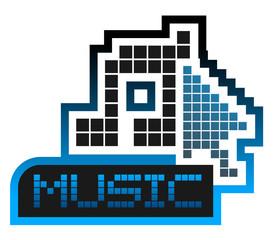 Pixel music