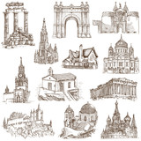 Famous places and architecture around the World (set no.5)