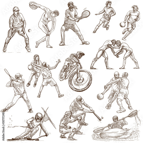 Sporting events around the world (set no.3, white set )