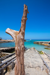 Es calo Escalo de sant Agusti Beach in Formentera