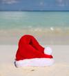 Santa's Hat on Beach