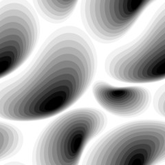 Seamless abstract black white pattern, vector Eps10 image.