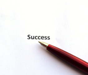 success with pen