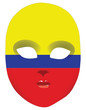 Colombia mask