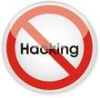panneau interdit hacking
