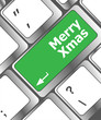 merry christmas message, keyboard enter key button xmas