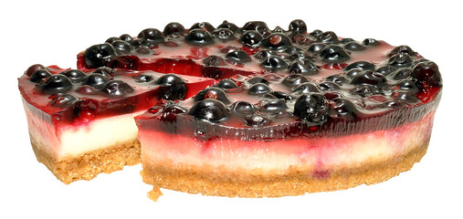 Blackcurrant Cheesecake