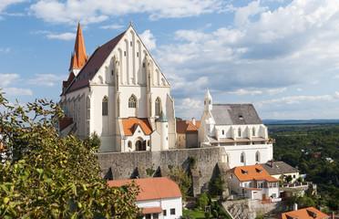 St. Nicholas Church in Znojmo city, Czech Republic