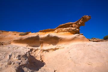 Formentera Es Calo des Mort beach turquoise Mediterranean