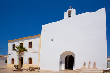 Formentera Sant Francesc San Francisco Javier church