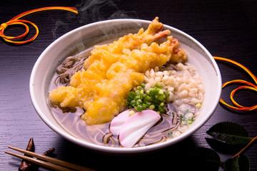 天ぷらそばで年越しそば