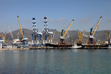 Торговый порт Новороссийска