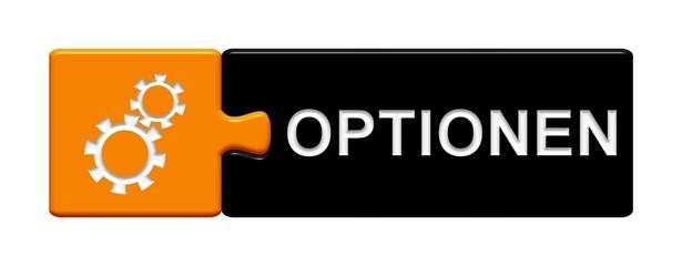 Puzzle-Button orange schwarz: Optionen