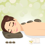 Relaxing Stone Massage