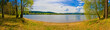 canvas print picture - Lipno Stausee