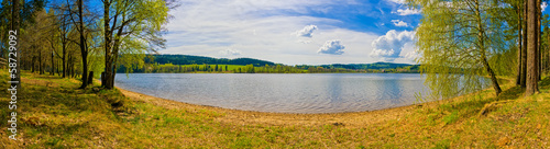 canvas print picture Lipno Stausee