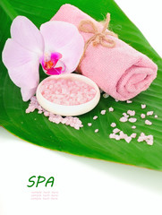 Spa setting for relaxation