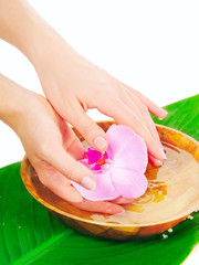 Spa therapy for hands