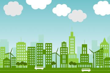 Eco-city.