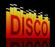 Disco concept.