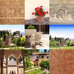 Famous Alhambra Castle, Spain