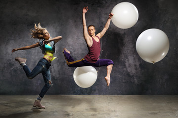 Energetyczna para taneczna