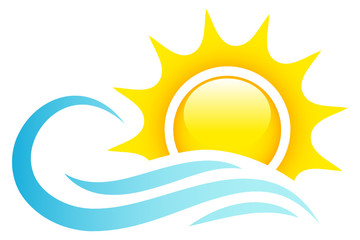 Sun, Ocean & Waves