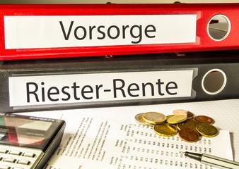 Riester-Rente (Vorsorge, Riester, Rente)