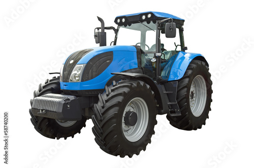 canvas print picture Agricultural tractor