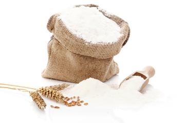 Flour still life.