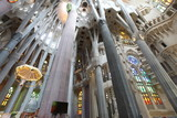 La Sagrada Familia, the unrealistic cathedral designed by Gaud i