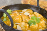 Chicken Korma - Chicken with a mildly spiced creamy sauc