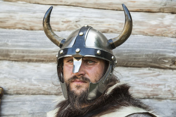 The portrait of the Viking