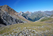 Summer view of the central Pyrenees.