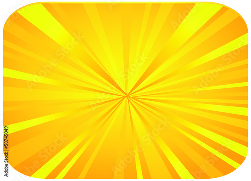 Vintage colored rays background