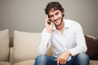 Young man talking on the phone - 58745465