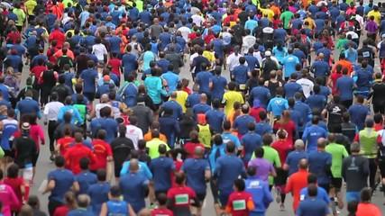 Masa de corredores