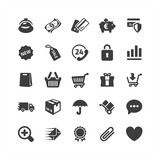 E-commerce Icons Set