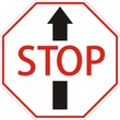 """запрещающий знак """"stop"""""""