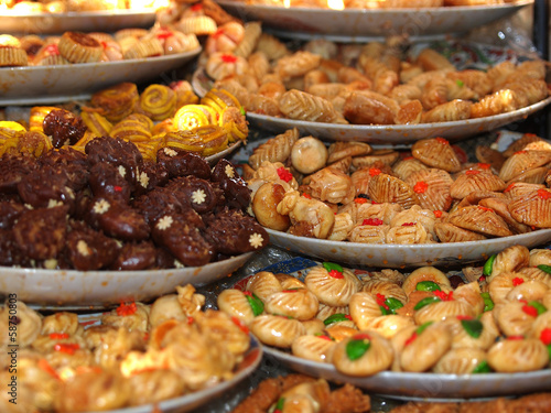 sweets in Marrakesh