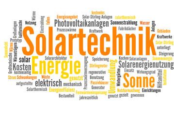 Solartechnik (Solaranlage, erneuerbare Energie)