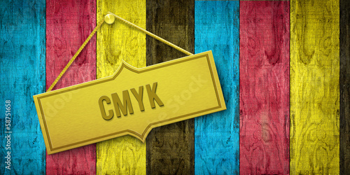 canvas print picture CMYK Holwand