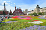 Moscow, panorama of Red Square, Kremlin,Russia