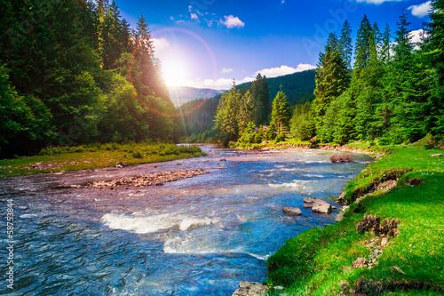 Mountain river - 58753844