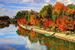������, ������: Autumn on river Bega