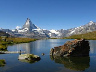 Matterhorn lake view, Switzerland